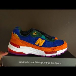 New balance 992 Multi Color new